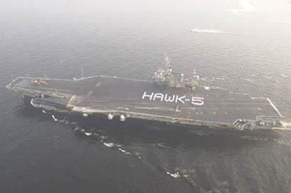 USS Kitty Hawk (24 kB)