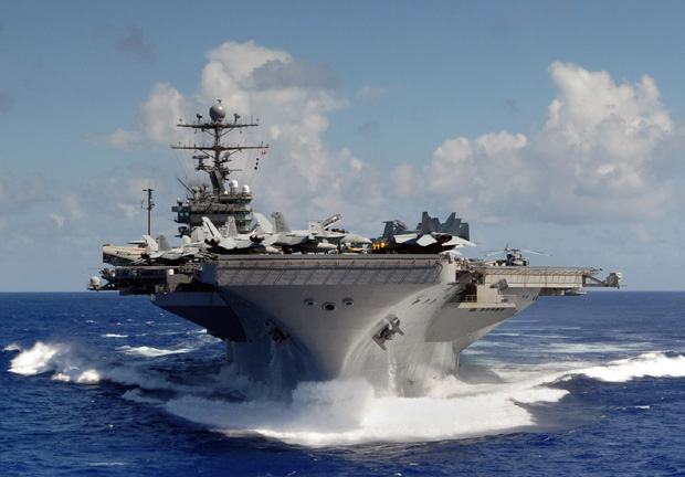 USS Abraham Lincoln (84 kB)